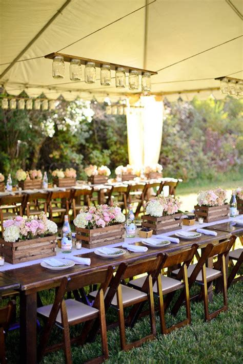 Country Chic Wedding Decor by 10 Country Chic Rustic Wedding Tablescapes