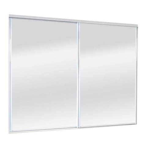 Sliding Mirror Closet Doors Hardware Shop Reliabilt 9500 Series Walden By Pass Door Mirror