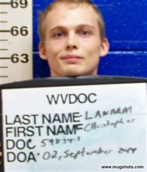 Kanawha County Records Christopher Lanham Mugshot Christopher Lanham Arrest Kanawha County Wv