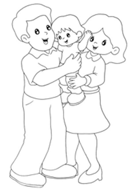 imagenes para pintar sobre la familia im 225 genes de la familia para pintar en el jard 237 n maestra