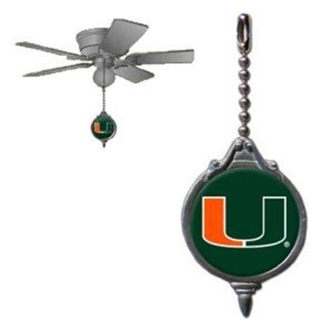 ceiling fans miami ncaa miami hurricanes ceiling fan pull sports