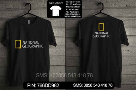 Kaos National Geographic 279 pre order kaos national geographic prenatgeo03 baju