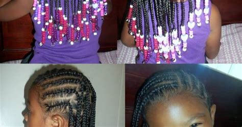 corn rolls and beaded hair styles corn rolls box braids protective hairstyles for little