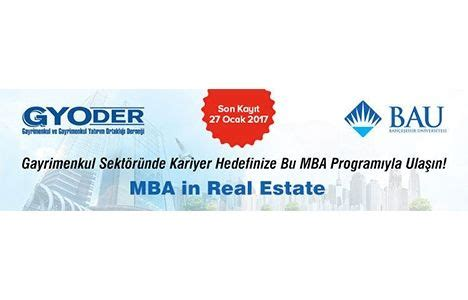 Mba In Real Estate And Construction Management In Canada by Mba In Real Estate ıtları I 231 In G 252 N 27 Ocak