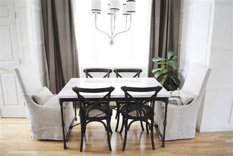 Restoration Hardware Bistro Table Restoration Hardware Dining Chairs Transitional Dining Room Flourish Design Style