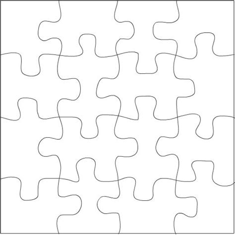 pattern for drawing around crossword how to draw puzzle pieces google search drawing