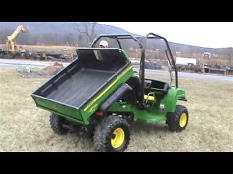 2007 john deere gator hpx 4x4 power dump bed water cooled