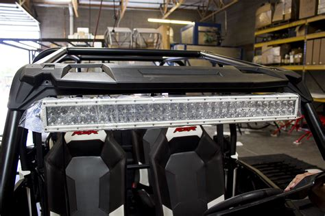 rzr 1000 light bar utv inc xp 1000 under roof 30 quot light bar mounts polaris