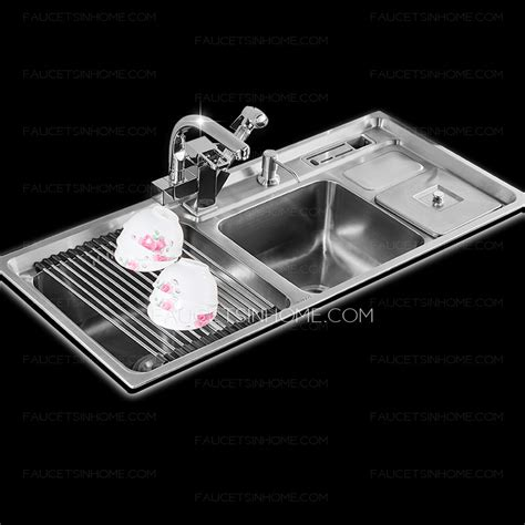 best kitchen sinks and faucets best sinks stainless steel nickel brushed kitchen