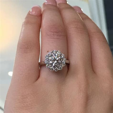 tacori engagement rings full bloom halo setting 69ctw