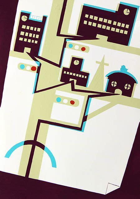 illustration layout composition 2015年度 多摩美術大学 情報デザイン学科 現役合格者再現作品 色彩構成 入試再現作品 色彩構成