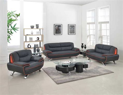 modern black leather sofa gu 405 leather sofas