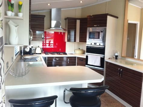 Small Kitchen Cabinet by Static Caravan Kitchen Modern Kitchen South West