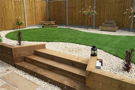 Sleeper Retaining Wall Ideas by Wooden Garden Sleepers Yes Or No To Railway Sleepers In