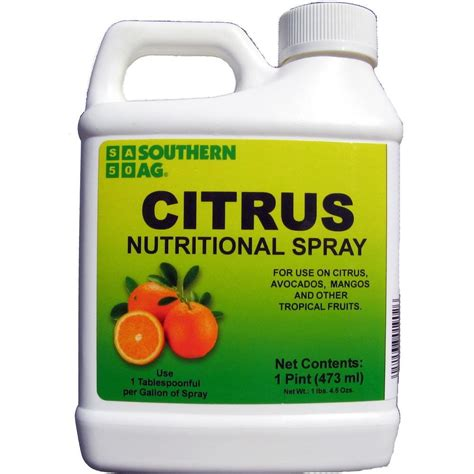 southern ag 1 pint citrus nutritional spray 100048939