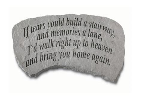if tears could build a stairway bench buy garden bench if tears could build a stairway 54 lbs 12 x 29 x 14 5 garden stone