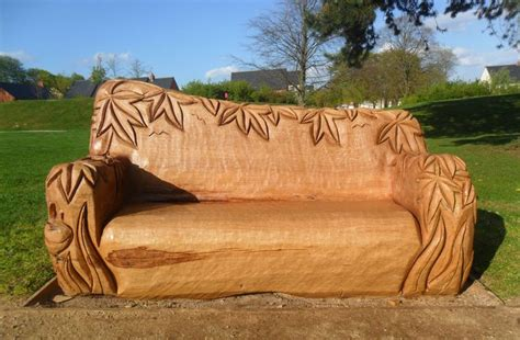 Chainsaw Carved Bench Andy O Neil Bench Chainsaw Art Amp Wood Sculpture