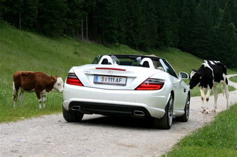 Kfz Versicherung Jährliche Fahrleistung by Mercedes Slk 350 Im Test Autotests Autowelt