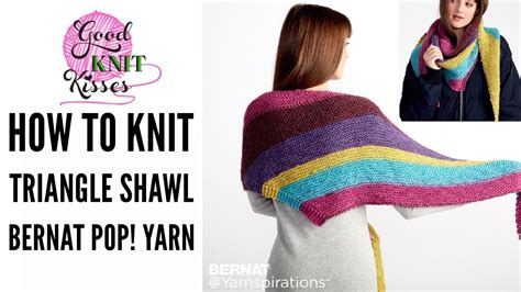 how to knit with yarn yarn knit along the knit triangle shawl pattern by
