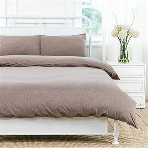 jersey knit comforter queen pure era ultra soft solid cotton jersey knit home bedding