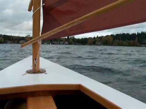 zephyr sailboat sailing my homebuilt devlin zephyr youtube