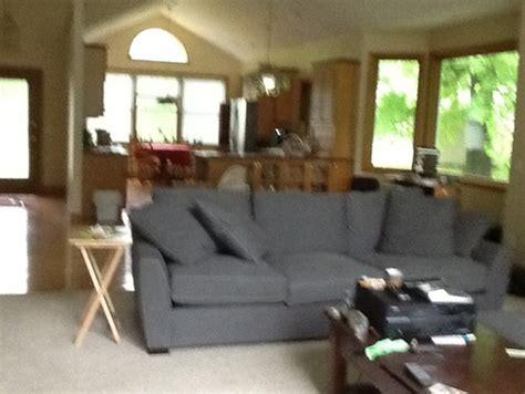 grey sofa brown carpet brokeasshomecom