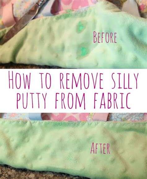 Remove Silly Putty From by How To Remove Silly Putty From Fabric Blankets Sheets