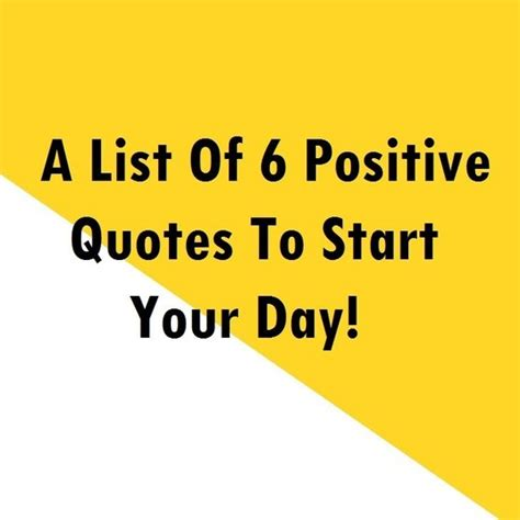 What A Way To Start A Day by Positive Thinking Archives Positive Words Research