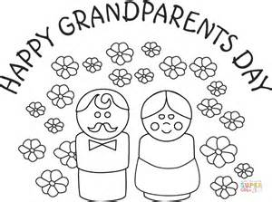 happy birthday coloring pages for grandparents happy grandparents day coloring page free printable