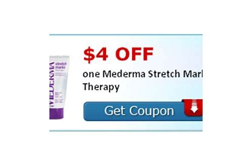 coupon code for mederma stretch mark therapy