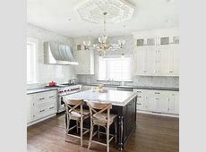 White Spring Granite Counters Design Ideas Ethereal Island