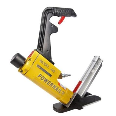 powernail 15 5 gauge pneumatic hardwood flooring power stapler 445fsw the home depot