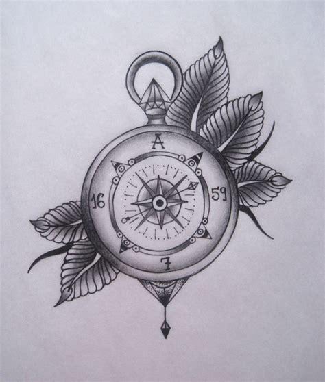 old compass tattoo compass beautiful pinte