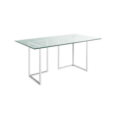 plateau verre pour table lagon plateau de table en verre 180x80cm habitat
