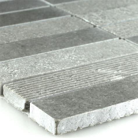 Matte Fliesen Polieren by Marmor Mosaik Fliesen Brick Gefr 228 St Poliert Matt Grau