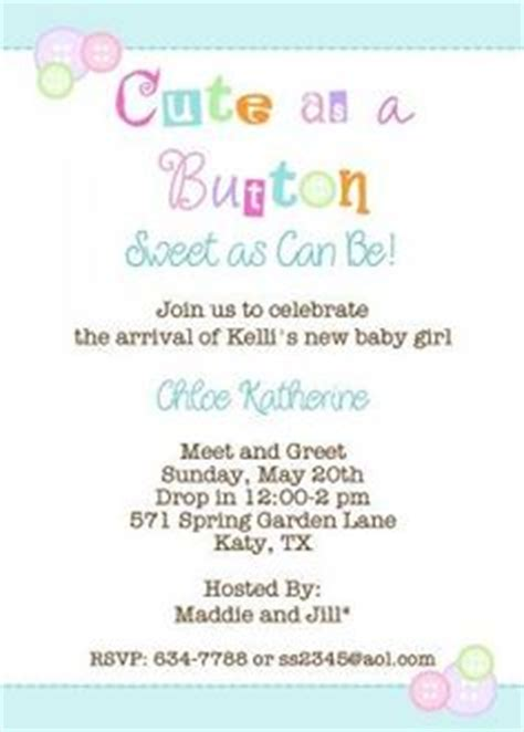 Meet And Greet Baby Shower Ideas by Meet The Baby Shower Invitations Theruntime