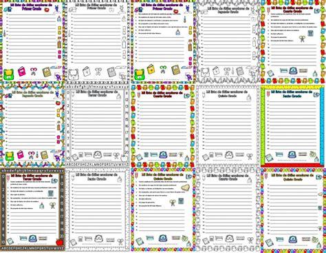 Imagenes De Formatos Escolares | bonitos formatos y listas de 250 tiles escolares de todos los