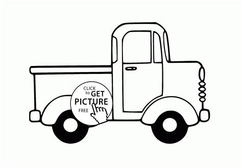 little blue truck coloring sheet pages sketch coloring page