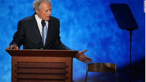 Clint Eastwood Chair Meme - politics of clint eastwood s empty chair cnn com