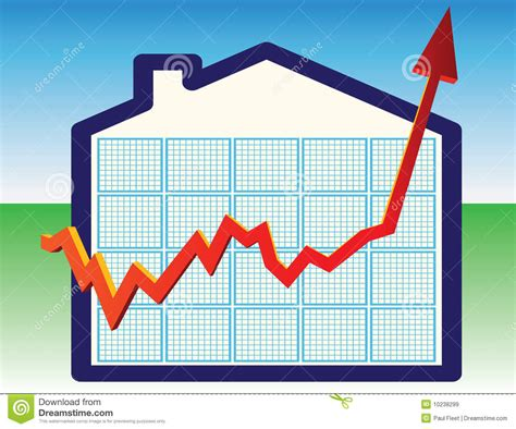 when will house prices go down house prices going down illustrated graph royalty free stock image cartoondealer com