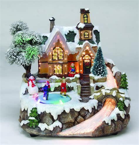 Lovely Avon Christmas Village #3: Fiber_Optic_And_Led_Christmas_Village.jpg