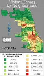 Chicago Crime Map by 100 People Shot In Chicago In First 10 Days Of 2016