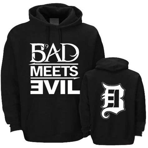 Jual Hoodie Eminem Bad Meets Evil best eminem bad meets evil hiphop rock hoodie napping fleeces 100 cotton solid color