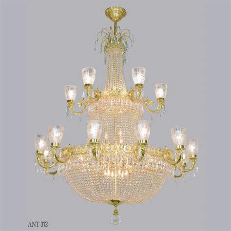 Magnificent Large Vintage Ballroom Crystal Chandelier Ant Vintage Chandeliers