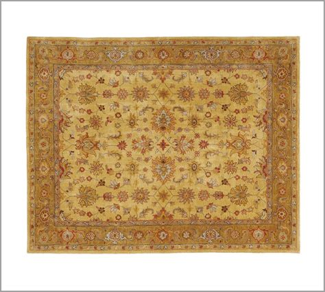 New Pottery Barn Handmade Hanan Persian Style Area Rug Pottery Barn Area Rugs
