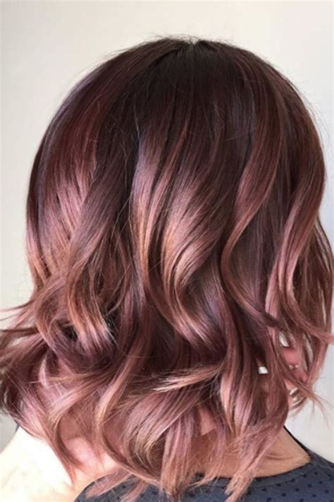mauve hair color 15 gorgeous hair colors that will be in 2018