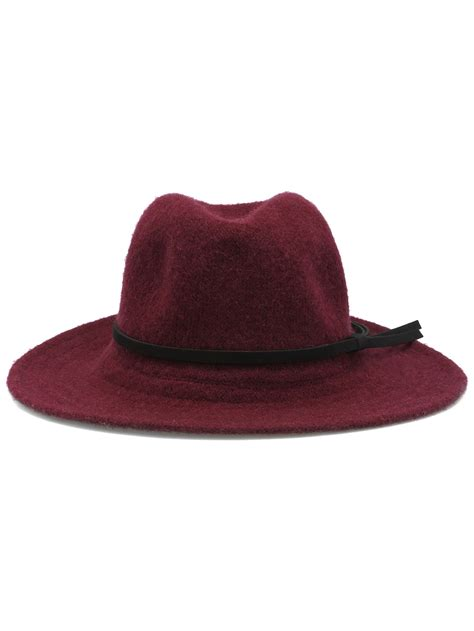 Buckle Hat leather buckle hat shein sheinside