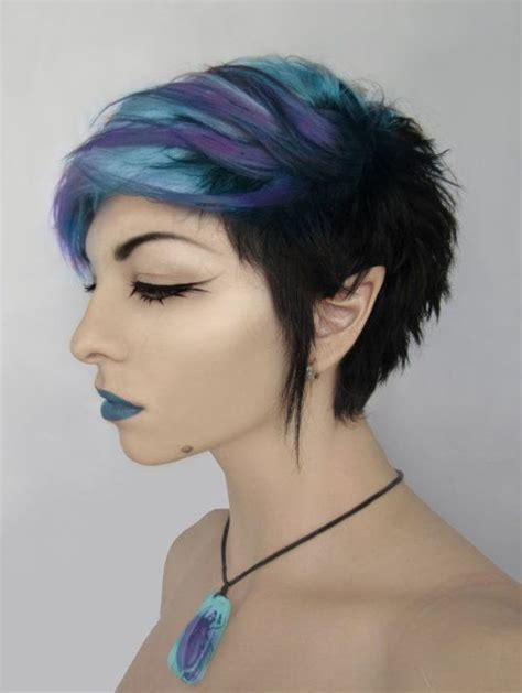 turcquoise short hair styles via pixie by xxxbekixxx on deviantart hair beauty
