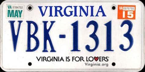 Va Vanity Plates by Virginia A Unit Study Diyhomeschooler