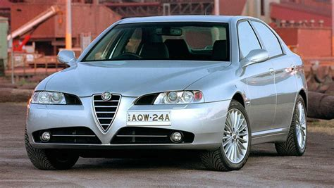 Alfa Romeo 166 by Used Alfa Romeo 166 Review 1999 2009 Carsguide